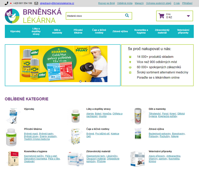 Brněnská lékárna online