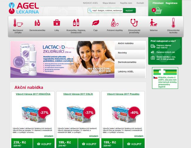 E-shop Agel