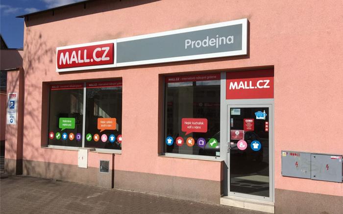 Prodejna Mall Brno Nové Sady