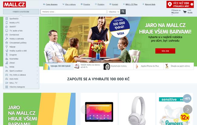 Mall internetový obchod