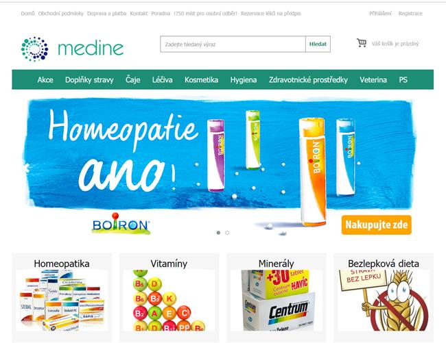 Online lékárna Medine