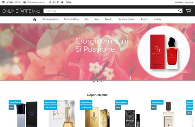 Online Parfém eshop
