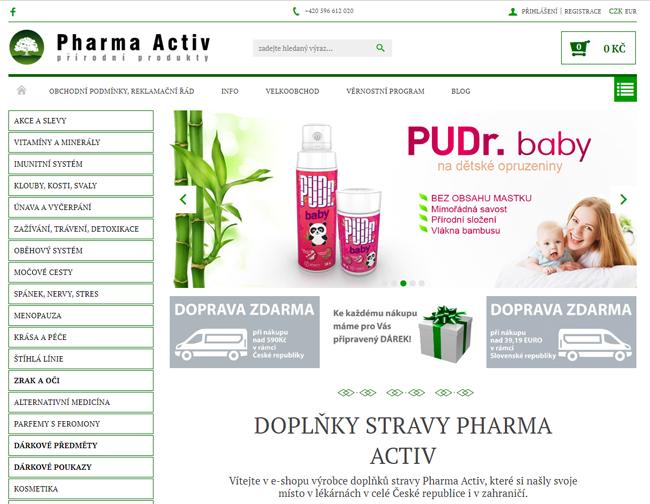 Pharma Activ eshop