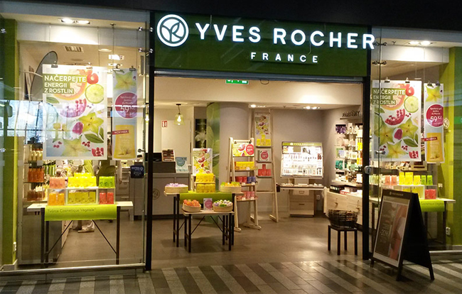 Yves Rocher prodejna
