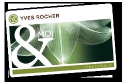 Yves Rocher zákaznická karta