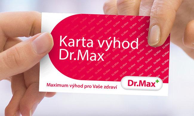 Karta výhod Dr. Max