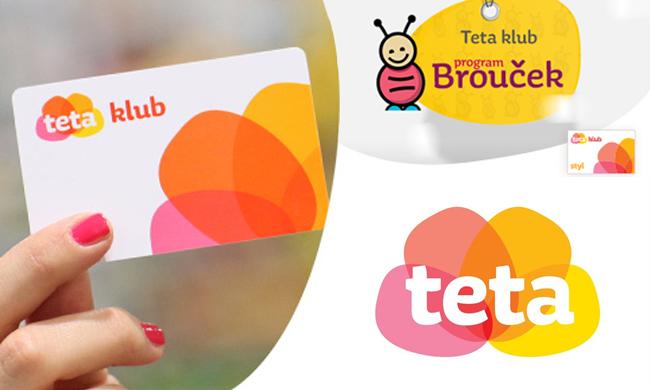 Teta klub - klubová karta a dětský program Brouček