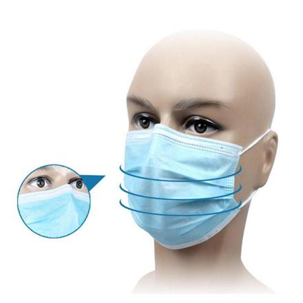 Ochranná rouška proti šíření koronaviru 10ks (roušky, ústenky)