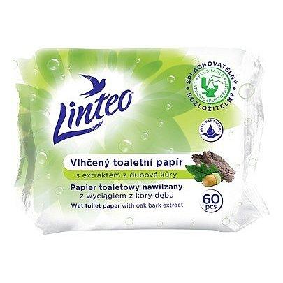 Toaletní papír LlNTEO vlhčené 60ks s dubovou kůrou rozložitelný