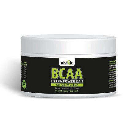 Alvifit Extra Power BCAA 2:1:1 120 tablet