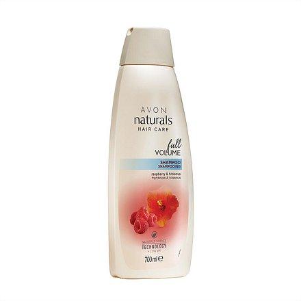 Avon Šampon Malina a ibišek Naturals 700 ml