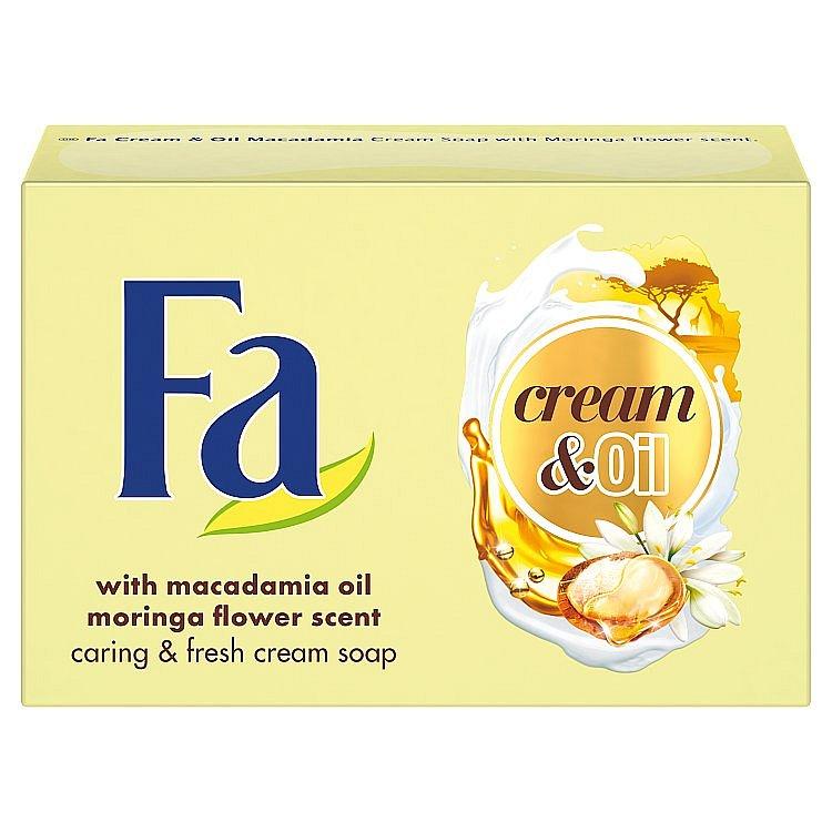 Fa krémové mýdlo Cream & Oil Macadamia 90 g