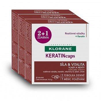 KLORANE Keratincaps Síla a vitalita cps.90