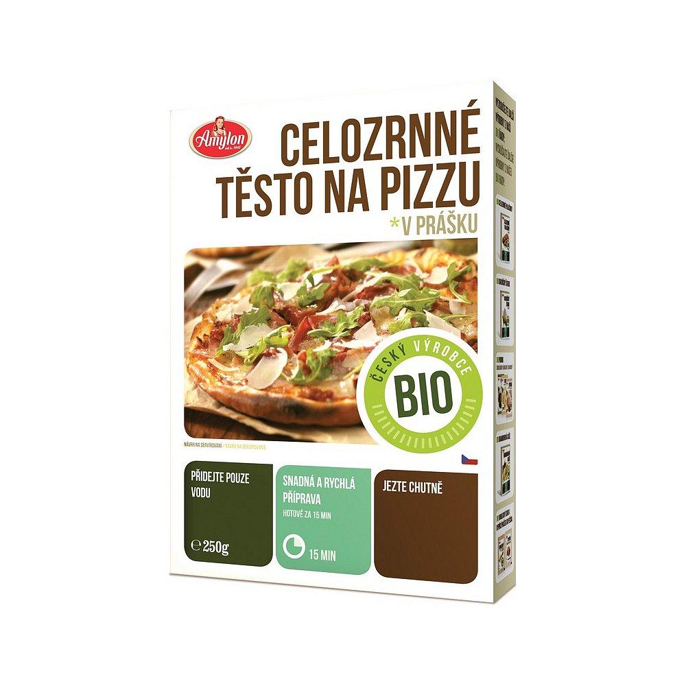AMYLON Těsto na pizzu celozrnné 250 g BIO