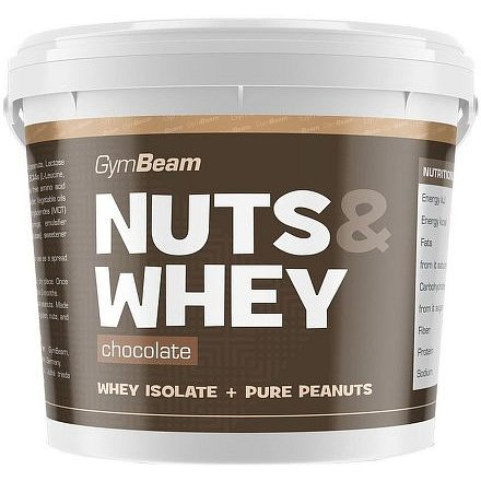 Gymbeam Nuts & Whey slaný karamel 1000g
