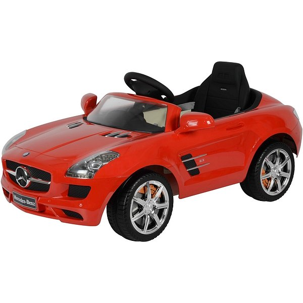 BUDDY TOYS Elektrické auto Mercedes SLS BEC 7111 - Buddy Toys Bec 7111 el.auto Mercedes SLS červená