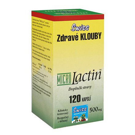 Swiss ZDRAVÉ KLOUBY (MicroLactin) orální tobolky 120