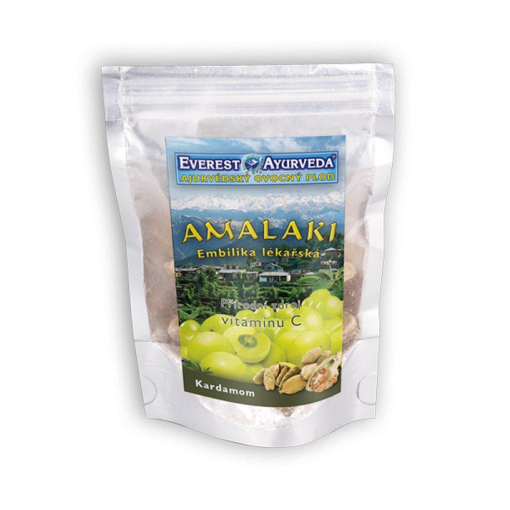 EVEREST-AYURVEDA AMALAKI sušené ovoce s kardamonem 100 g