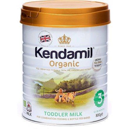 Kendamil Organické kojenecké mléko 3 - 800g