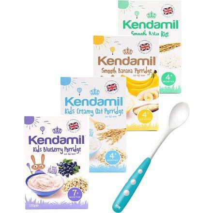 4x Kendamil variace kojeneckých kaší - banánová, borůvková, rýžová, ovesná