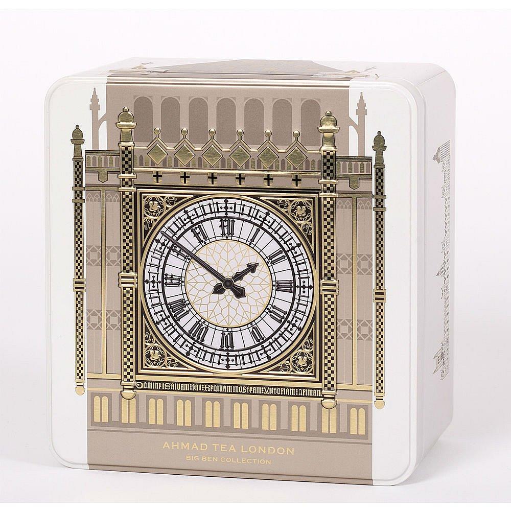 AHMAD TEA Big Ben Collection Ivory 40 sáčků v luxusní plechové kazetě