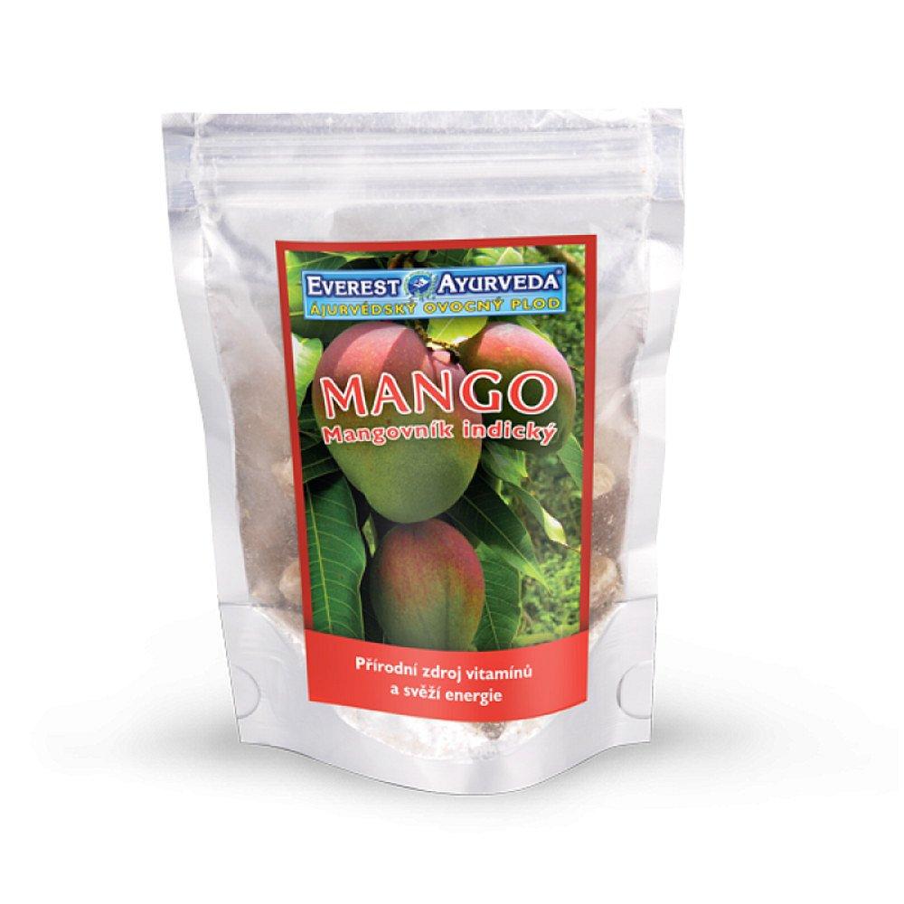 EVEREST-AYURVEDA MANGO Vitamín C & A 100 g sušeného ovoce