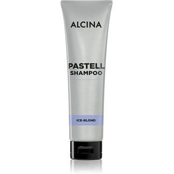 Alcina Pastell osvěžující šampon pro zesvětlené, melírované studené blond vlasy 150 ml