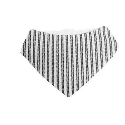 Bryndák šátek šedé proužky