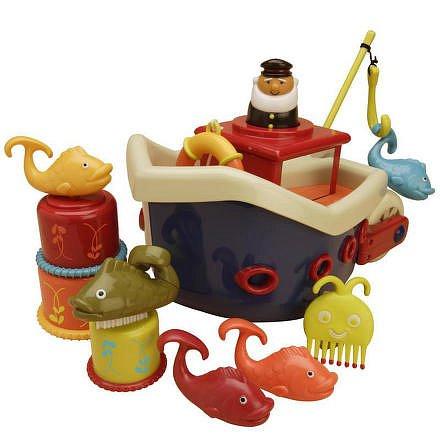Loď s kapitánem Fish & Splish