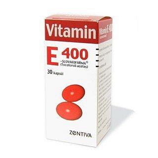 Vitamin E 400 Zentiva perorální orální tobolky měkké 30 x 400 mg