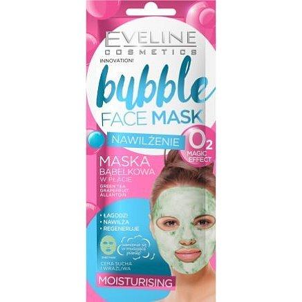Eveline BUBBLE MASK Hydratační pleťová textilní maska