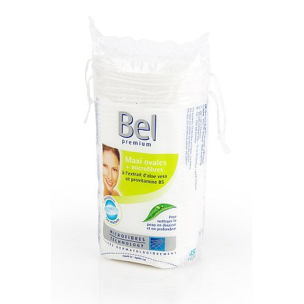 Kosmetické tampóny odličovací BEL Premium oválné 45ks