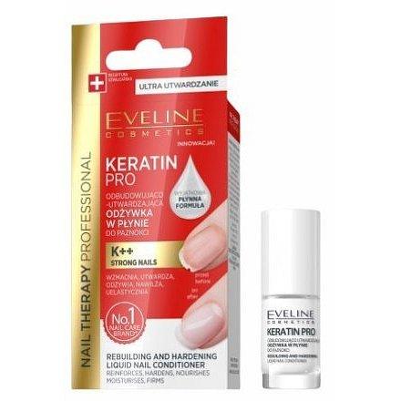 Eveline NAIL THERAPY KERATIN PRO Vytvrzující nehtový kondicionér 5ml