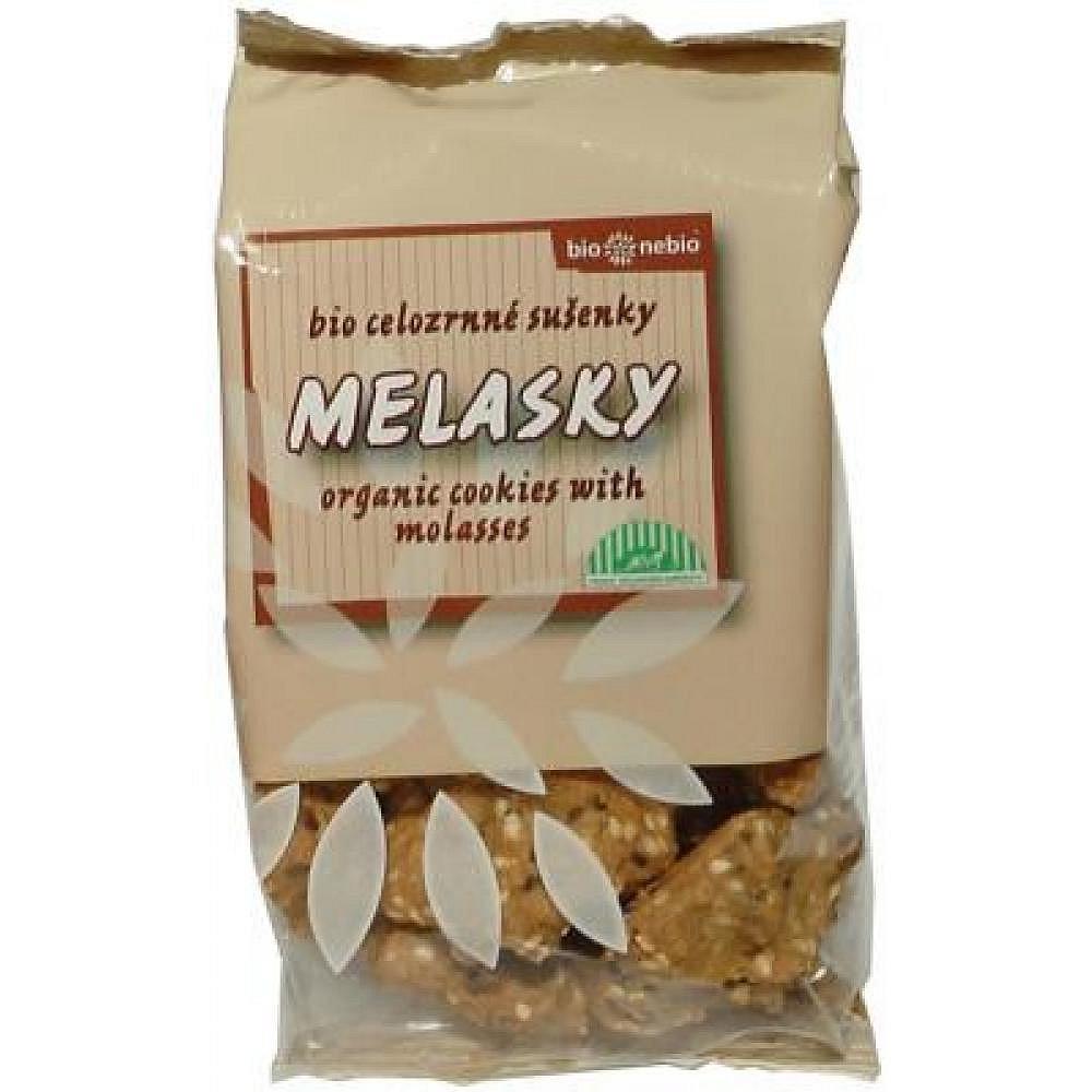 Bio Nebio Melasky celozrnné sušenky 130g BIO