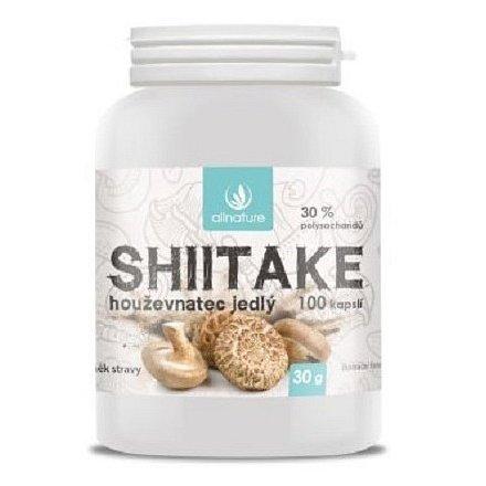 Allnature Shiitake kapsle 100 cps