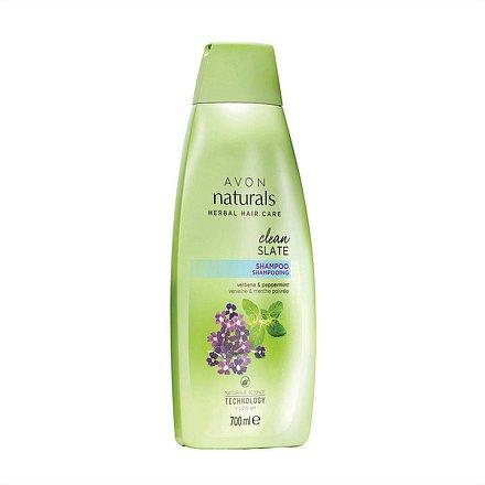 Avon Šampon Máta a verbena Naturals 700 ml