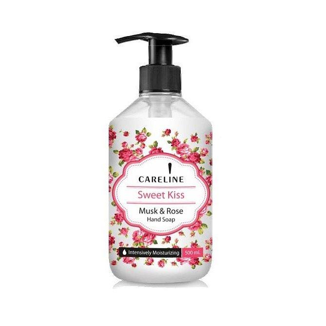 Careline Mýdlo na ruce Sladký polibek 500 ml