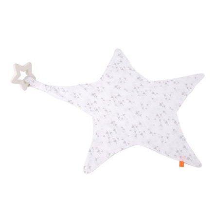 Muchláček hvězda s kousátkem šedá