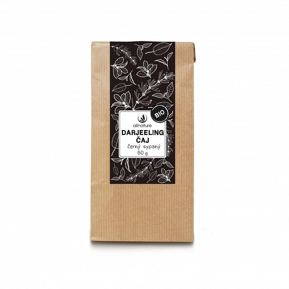 ALLNATURE Darjeeling čaj černý sypaný BIO 50 g