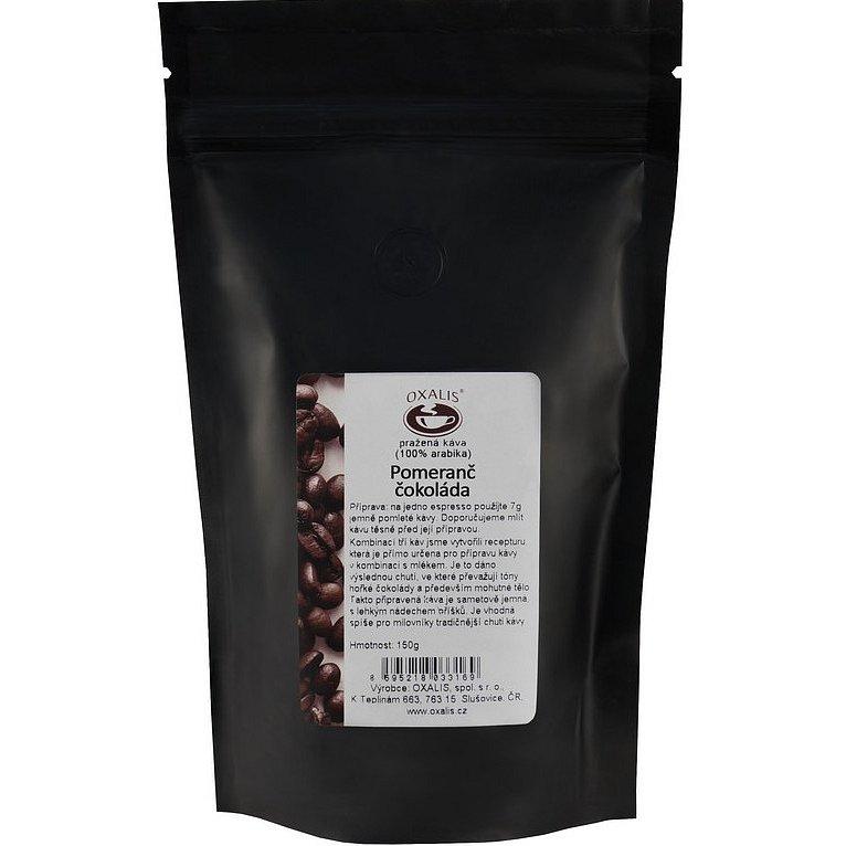 Oxalis Pomeranč - čokoláda mletá káva 150g