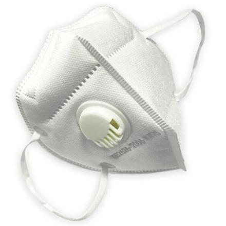 Respirátor s ventilem 1 ks ochrana FFP2 (roušky, respirátory)