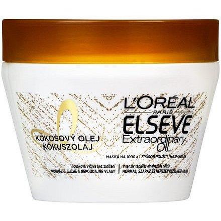 LOREAL Elseve Extraordinary Oil Coco maska pro suché vlasy 300ml