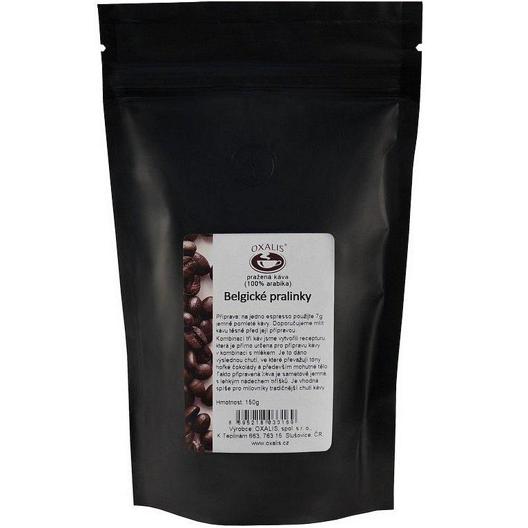Oxalis Belgické pralinky bez kofeinu 150g
