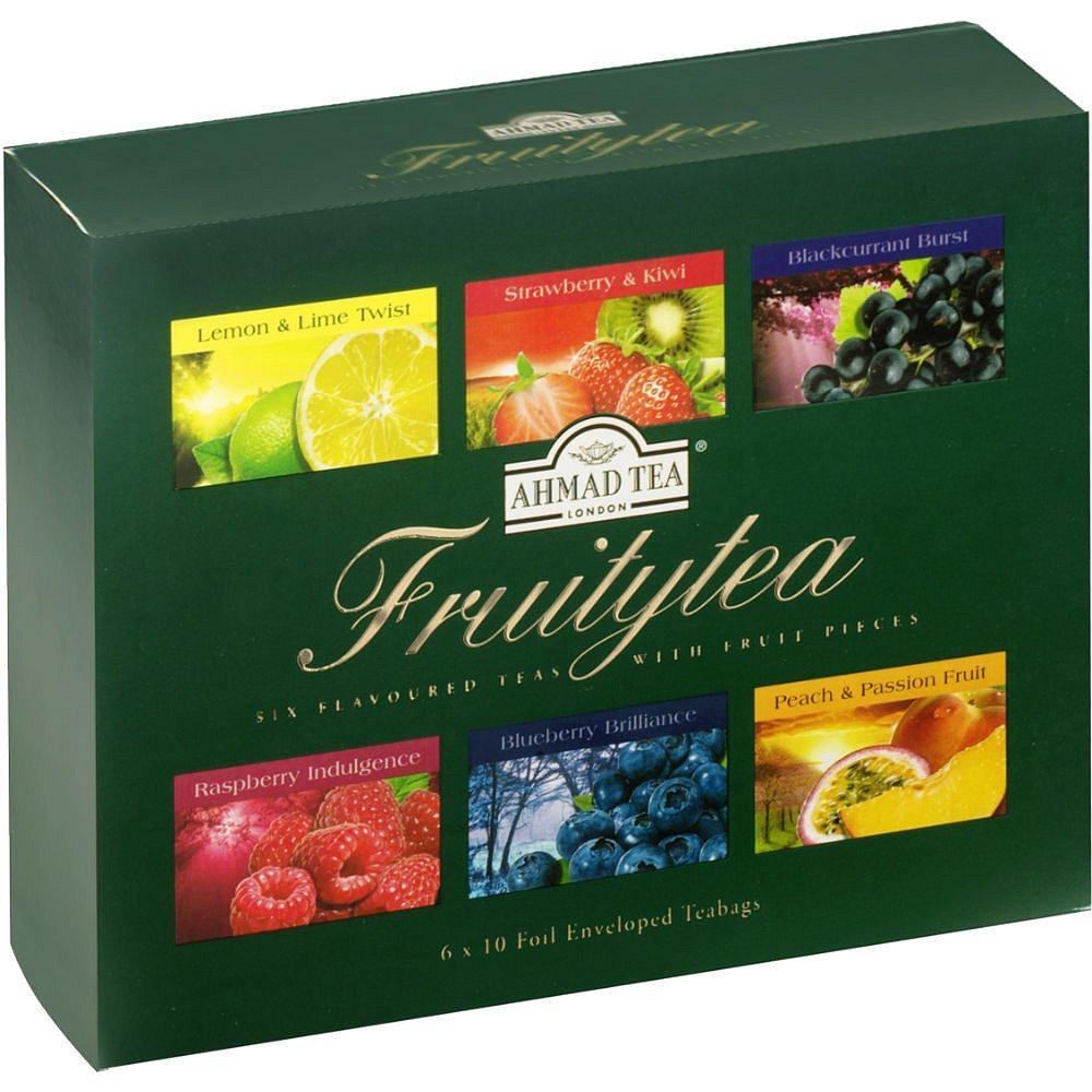 AHMAD TEA Fruity Tea Collection 60x2g v dárkové papírové kazetě