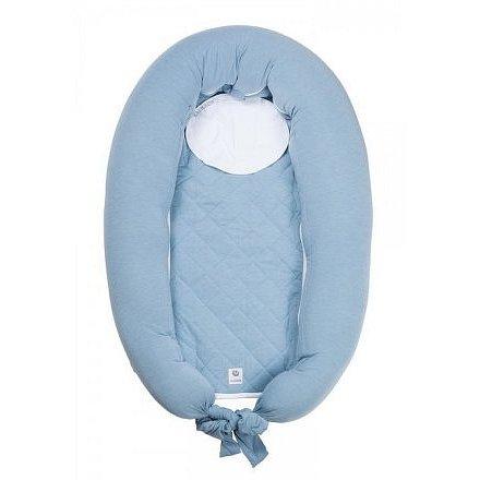 Kojicí polštář & hnízdo pro miminko MUM & ME Blue