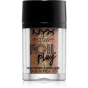 NYX Professional Makeup Foil Play třpytivý pigment odstín 11 Dauntless 2,5 g