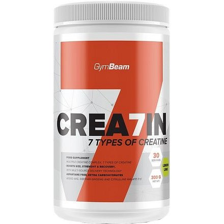 Gymbeam Crea7in citrón s limetkou 600g