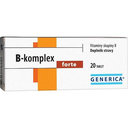 B-komplex forte tablety 20 Generica
