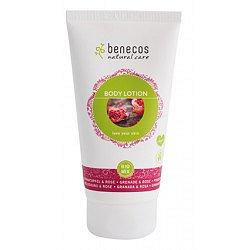 Benecos Tělové mléko Granátové jablko + Růže 150 ml