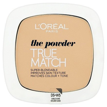 True Match Kompaktní pudr Golden Sand W5 9g